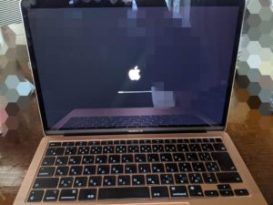 MacBookAir起動